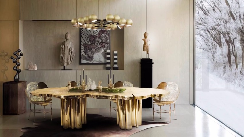 Modern Dining Tables Top Trends On Pinterest