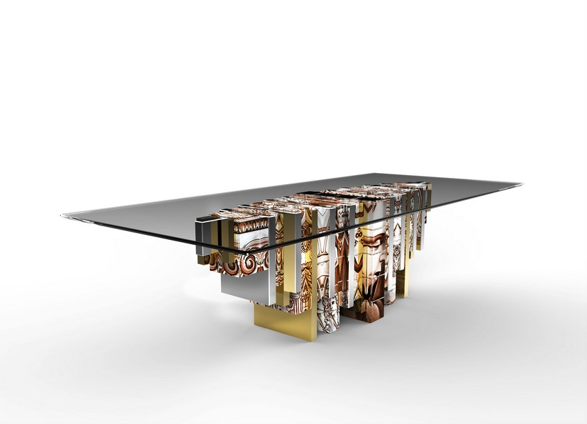modern dining tables Modern Dining Tables Top Trends On Pinterest Heritage A Modern Dining Table Inspired By Portuguese History