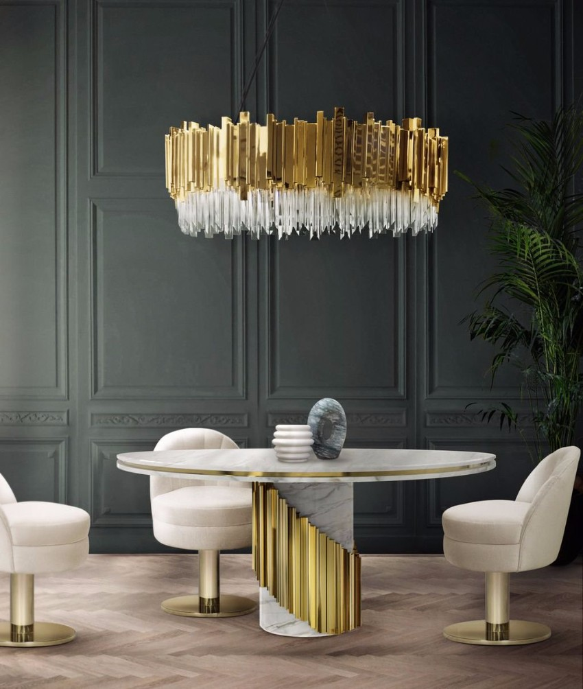 Top Interior Designers Dining Tables Choices for Luxury projects top interior designers Top Interior Designers Dining Tables Choices for Luxury projects Litus Dining Table