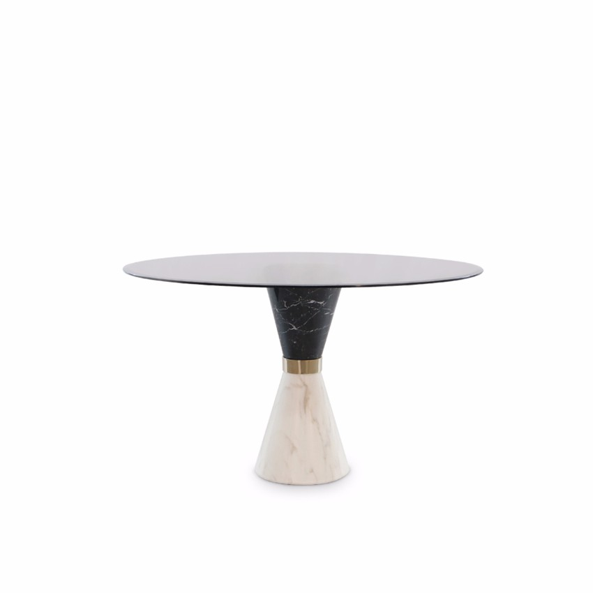 modern dining tables Modern Dining Tables Top Trends On Pinterest Round Vinicious Essential Home