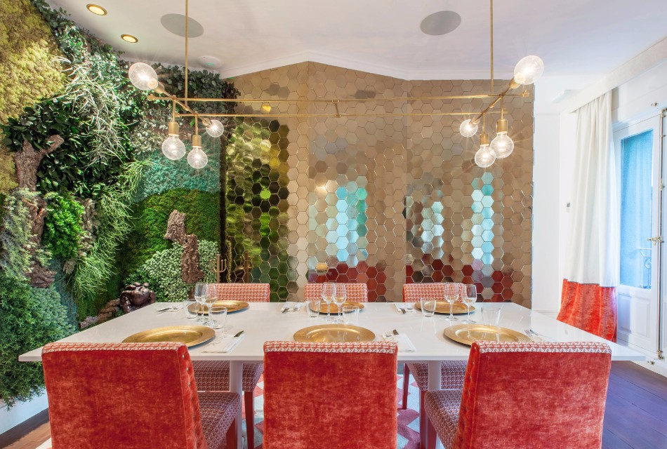 Top Interior Designers Marvelous Restaurant Flamingo By Marisa Gallo