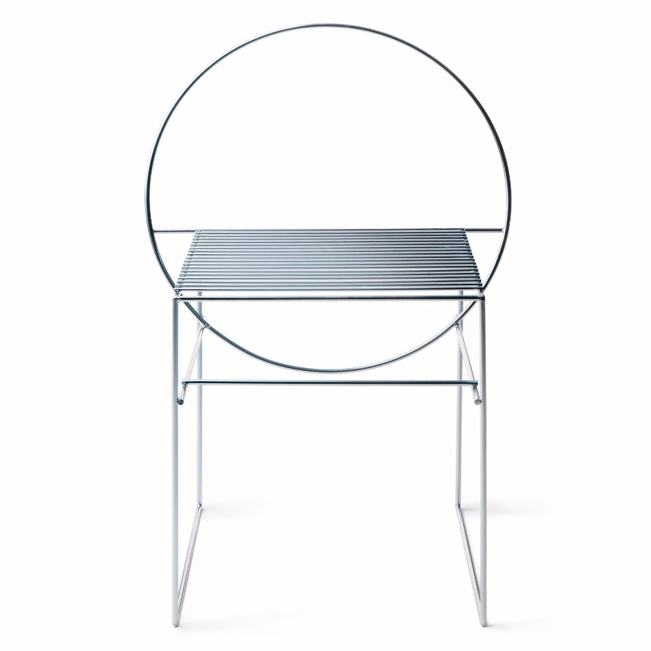 University Students Design Chairs Using Only Steel Rods |  Www.bocadolobo.com #diningchairs ...