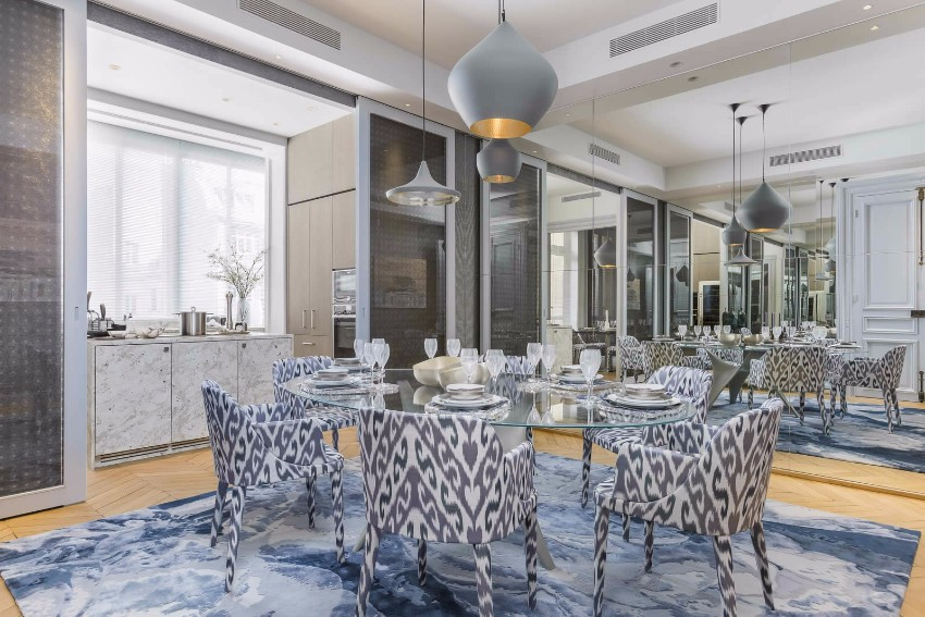 10 Beautiful Dining Room Ideas by Top Interior Designer Gérard Faivre top interior designer 10 Beautiful Dining Room Ideas by Top Interior Designer Gérard Faivre avenue marceau