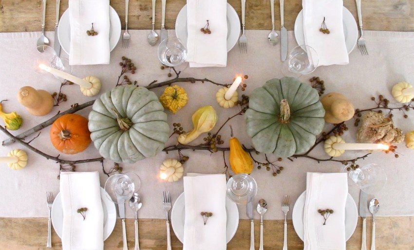 thanksgiving The Best Dining Table Décor Ideas For Thanksgiving candles