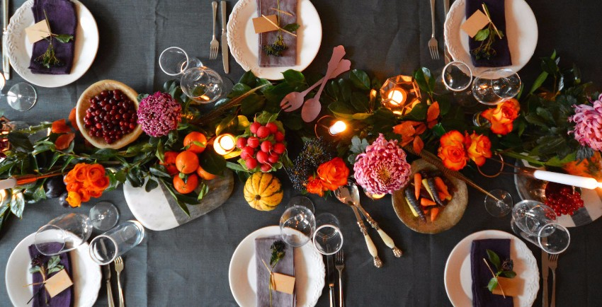thanksgiving The Best Dining Table Décor Ideas For Thanksgiving flowers