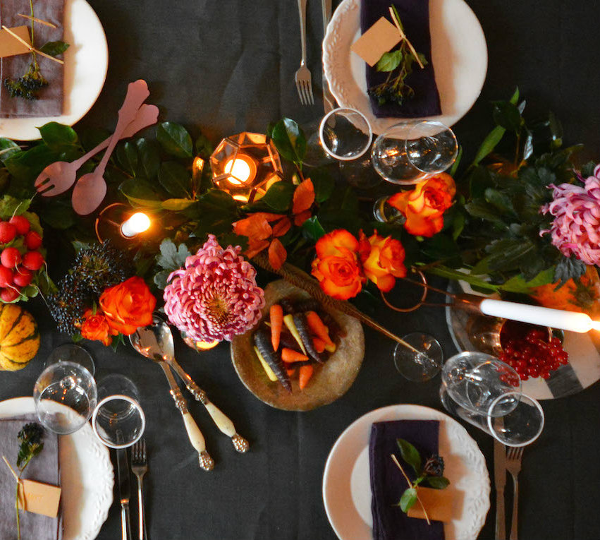 thanksgiving The Best Dining Table Décor Ideas For Thanksgiving flowersclose
