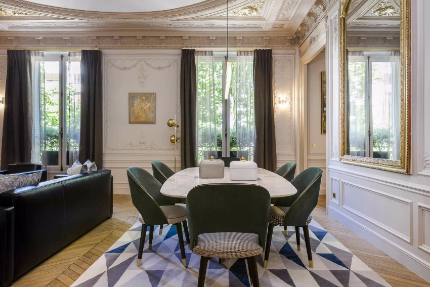 top interior designer 10 Beautiful Dining Room Ideas by Top Interior Designer Gérard Faivre germain