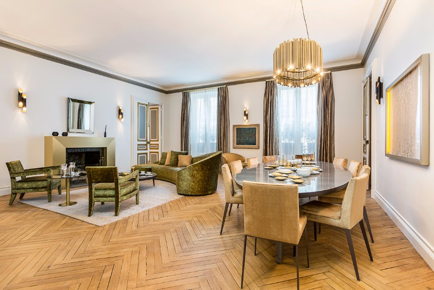 10 Beautiful Dining Room Ideas by Top Interior Designer Gérard Faivre top interior designer 10 Beautiful Dining Room Ideas by Top Interior Designer Gérard Faivre midnight in paris