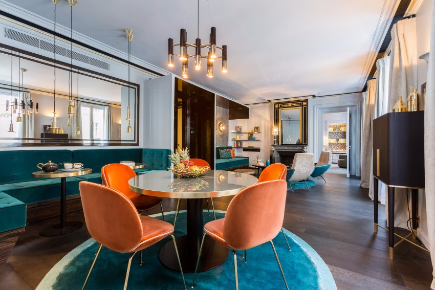 10 Beautiful Dining Room Ideas by Top Interior Designer Gérard Faivre
