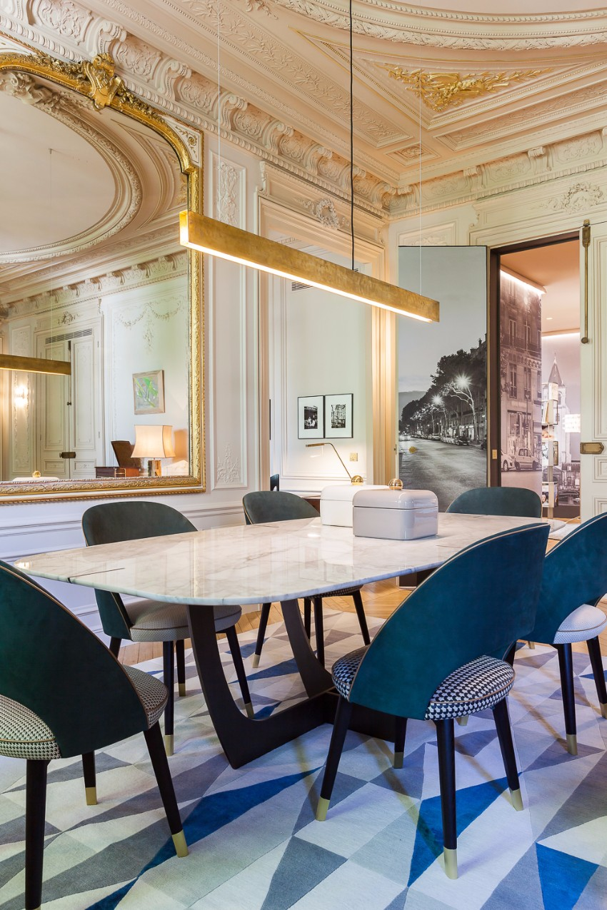 top interior designer 10 Beautiful Dining Room Ideas by Top Interior Designer Gérard Faivre saint