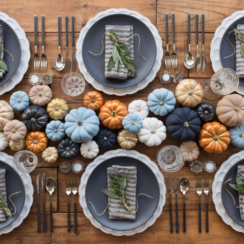 thanksgiving The Best Dining Table Décor Ideas For Thanksgiving small itens