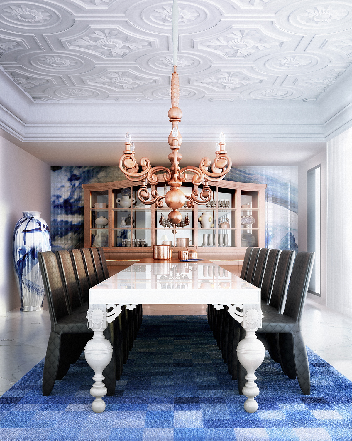 marcel wanders Luxurious Dining Room Ideas By Top Interior Designer Marcel Wanders 1 Luxurious Dining Room Ideas By Top Interior Designer Marcel Wanders