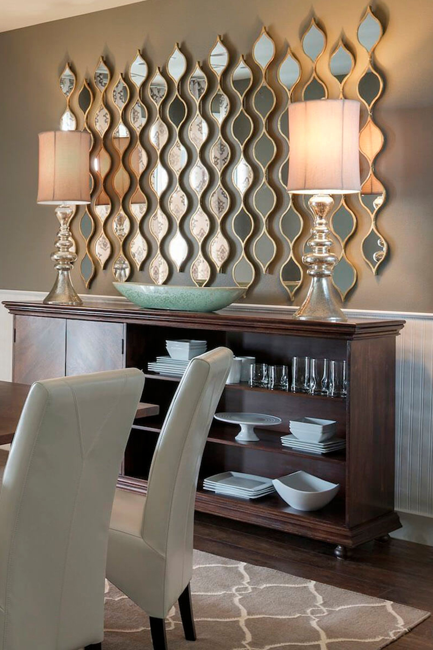 dining room How to Decorate The Dining Room With Luxury Mirrors 10 How to Decorate The Dining Room With Luxury Mirrors 1