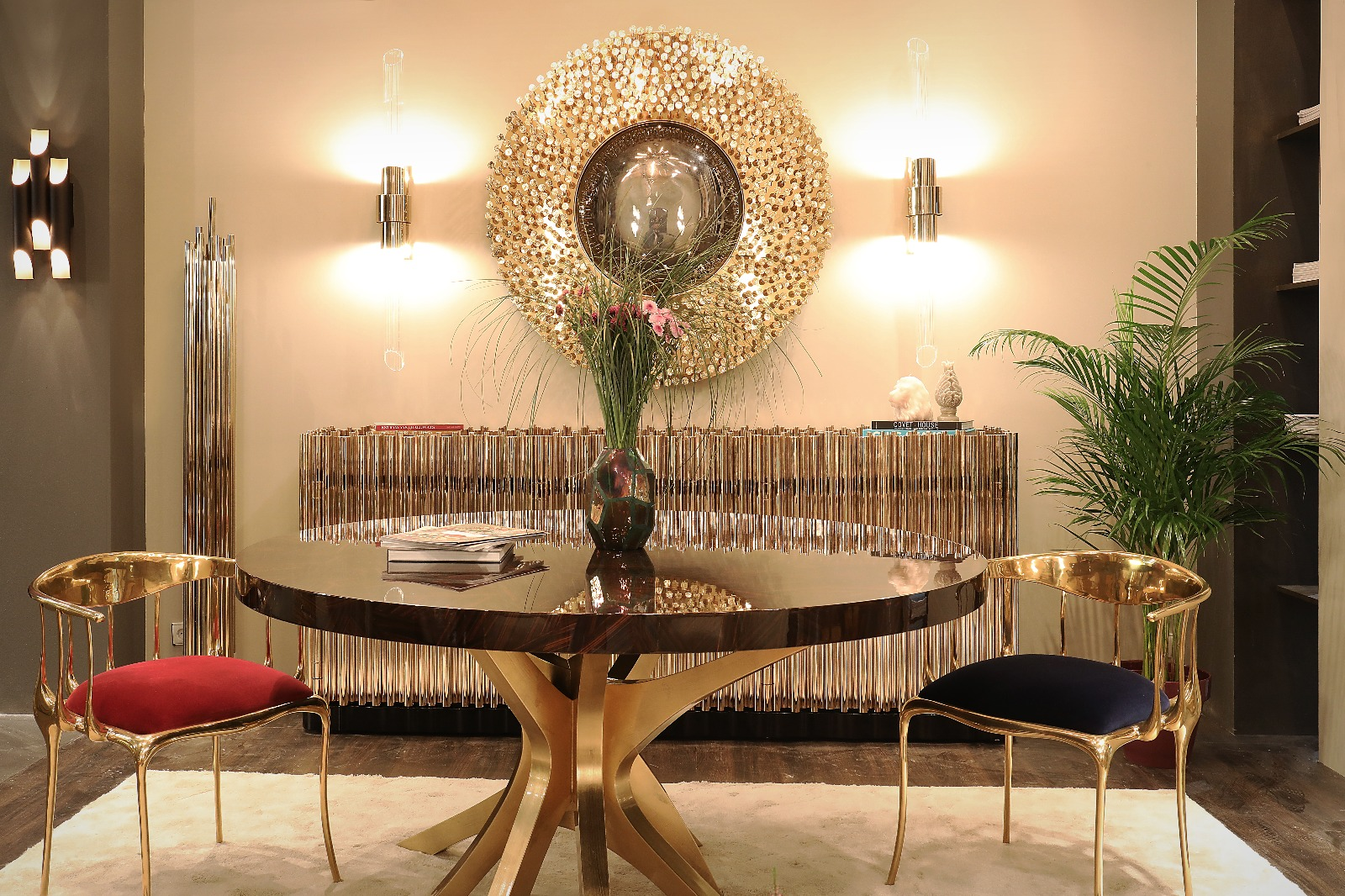 How To Decorate The Dining Room With Luxury Mirrors