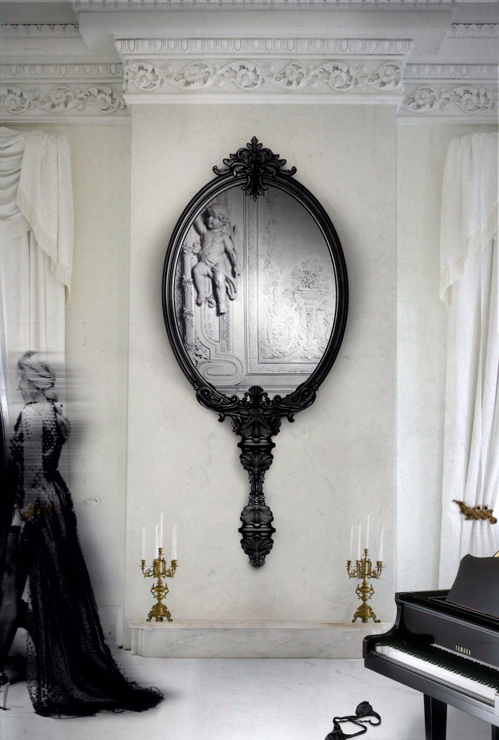 dining room How to Decorate The Dining Room With Luxury Mirrors 7 How to Decorate The Dining Room With Luxury Mirrors