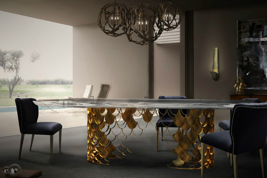 dining table design 10 Dining Table Design Examples With The Most Unique Leg Structure 8 10 Dining Tables Designs With The Most Unique Leg Structure
