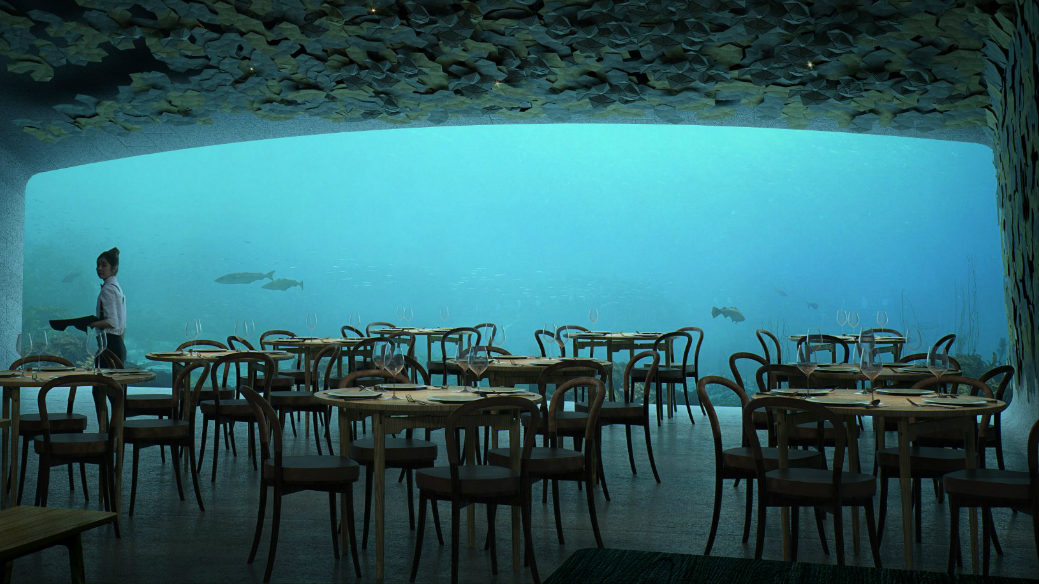 Norwegian Architecture Firm Reveals Project for First Underwater Restaurant