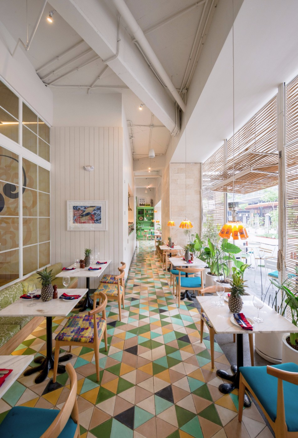 Get Inspired by this Colorful and Outstanding Restaurant Design | www.bocadolobo.com #diningroom #diningarea #thediningroom #diningchairs #restaurants #luxuryrestaurants #restaurantdesign #roomdesign #moderndiningtables @moderndiningtables