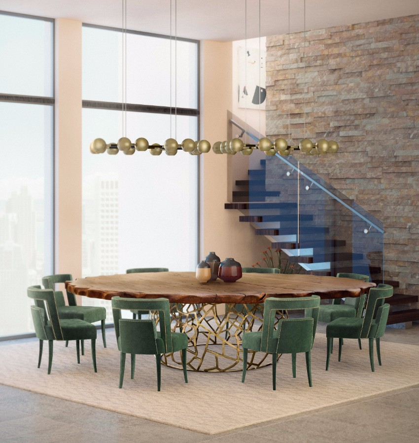 10 Rustic Dining Tables That Can Fit A Luxurious Modern Design
