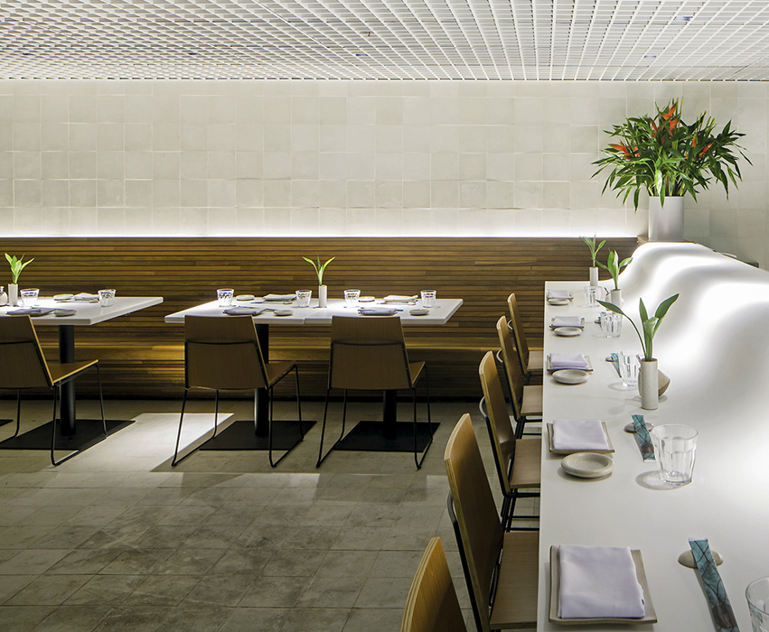 luxury restaurant Gurumê Luxury Restaurant by Bernardes Arquitetura gurume2detail