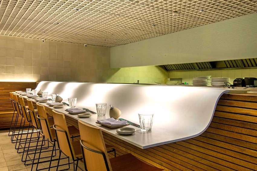 luxury restaurant Gurumê Luxury Restaurant by Bernardes Arquitetura gurume3
