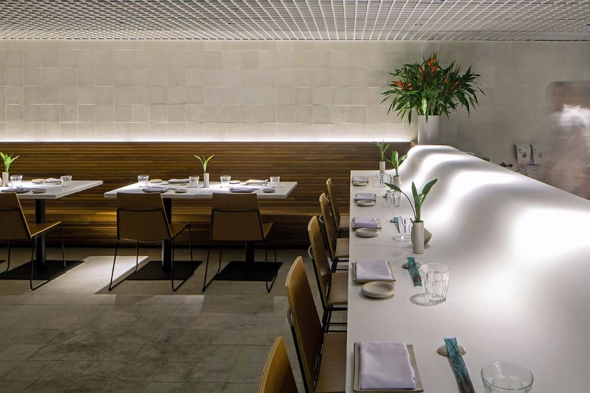 luxury restaurant Gurumê Luxury Restaurant by Bernardes Arquitetura gurume5