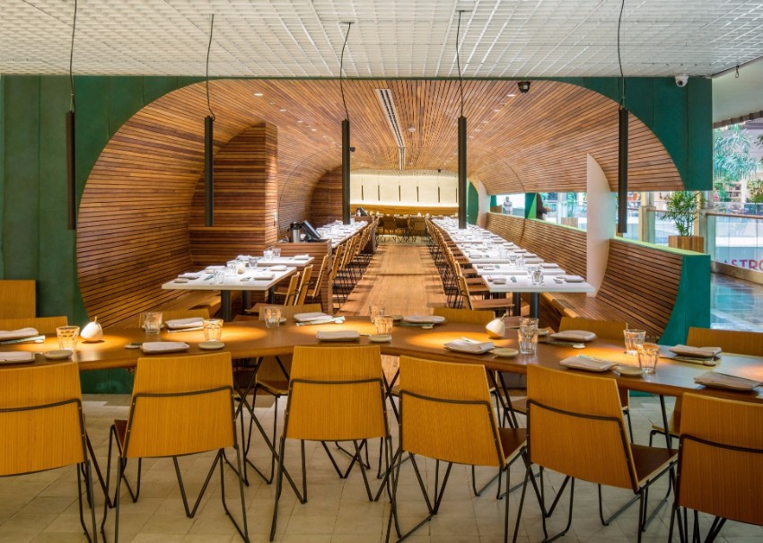 luxury restaurant Gurumê Luxury Restaurant by Bernardes Arquitetura gurume7