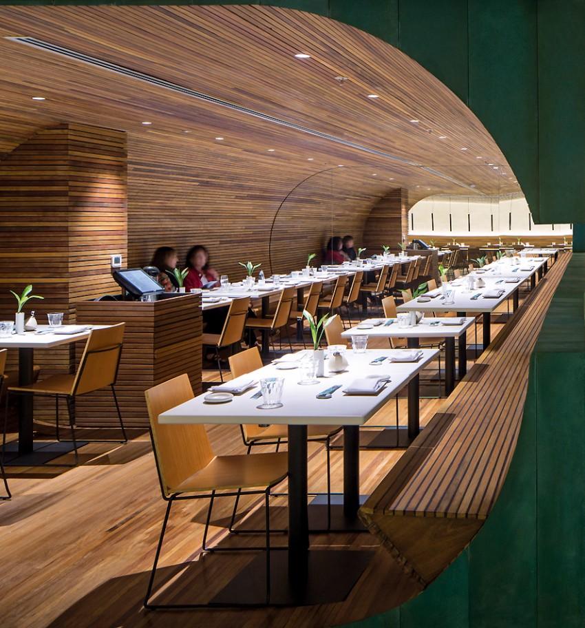 luxury restaurant Gurumê Luxury Restaurant by Bernardes Arquitetura gurume8