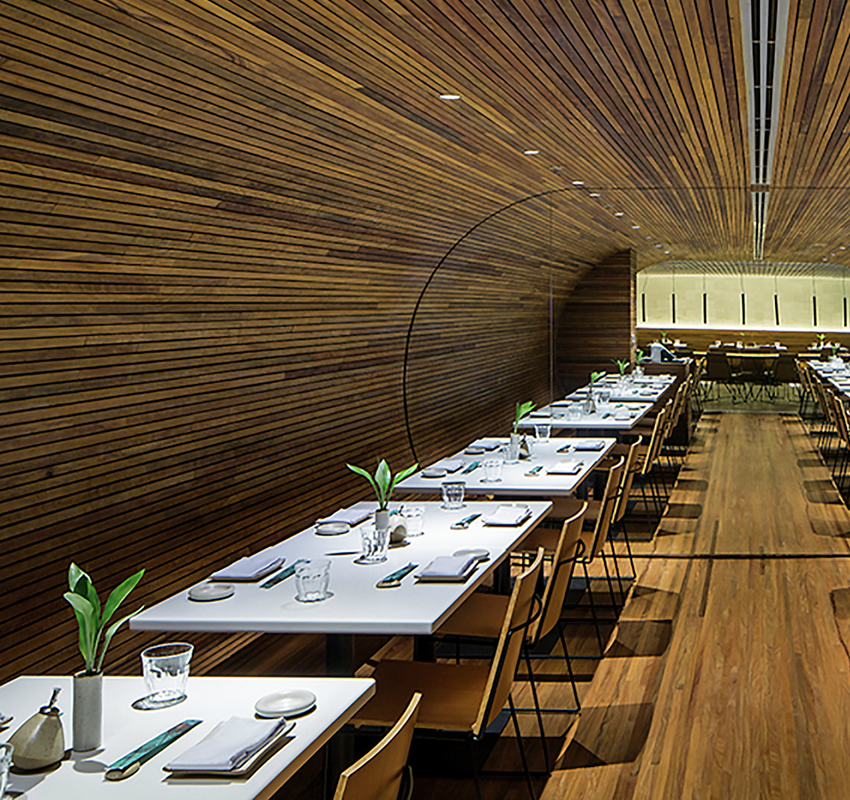 luxury restaurant Gurumê Luxury Restaurant by Bernardes Arquitetura gurumedetail