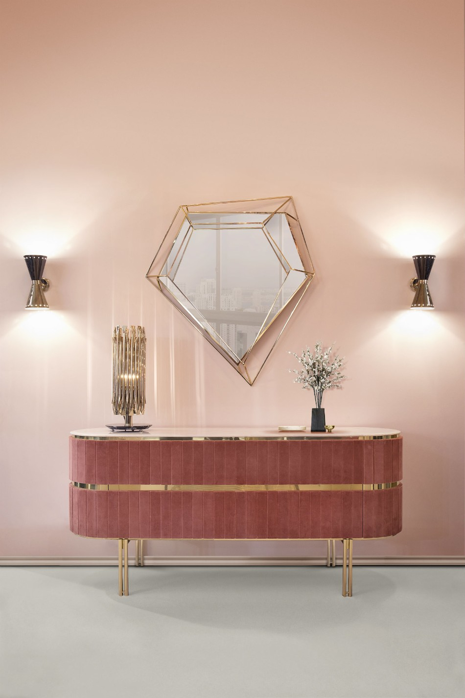 8 Luxury Wall Mirrors for Your Dining Room