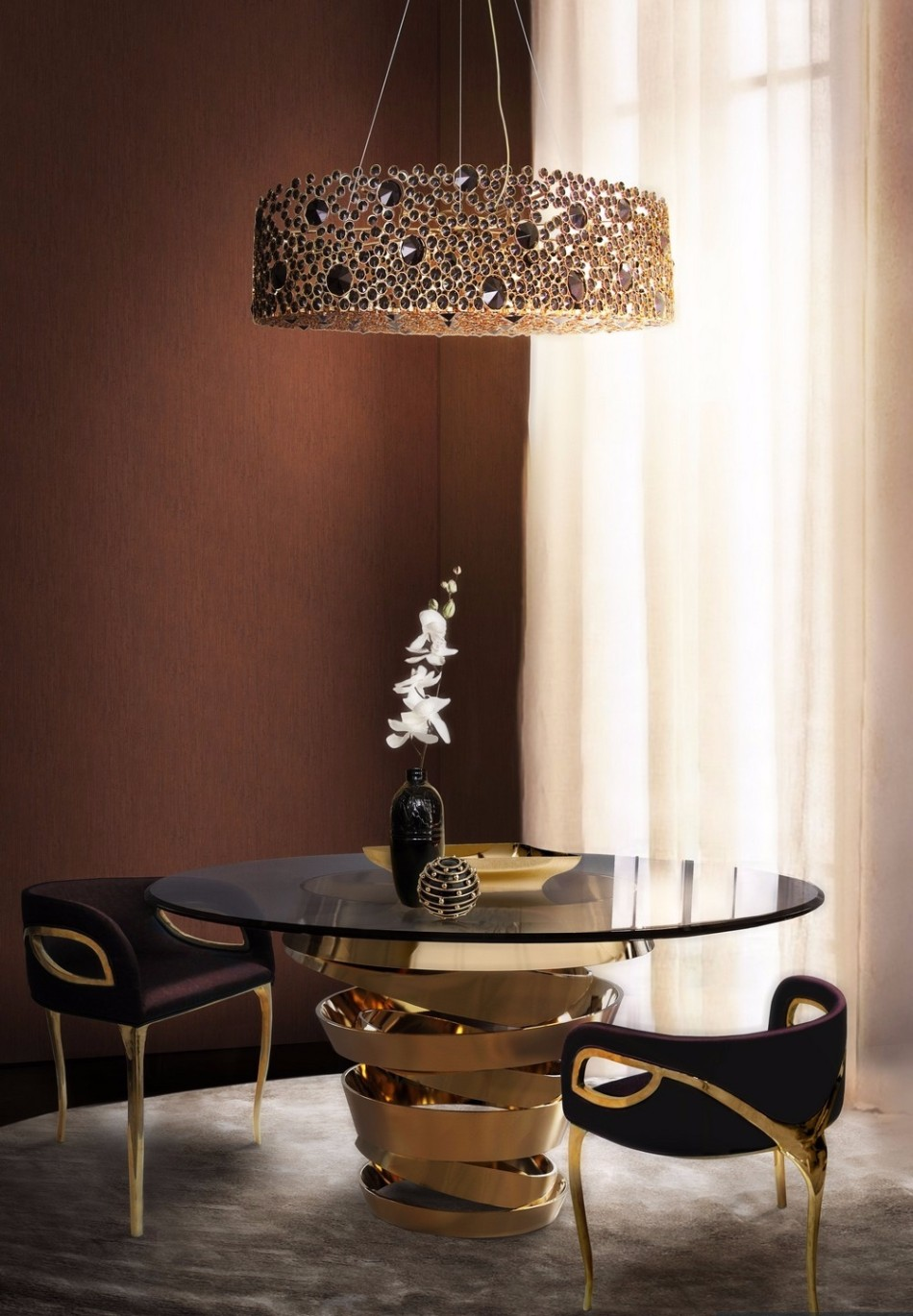 Dining room lighting trends 2018 barclaydouglas for Dining room 2014 trends