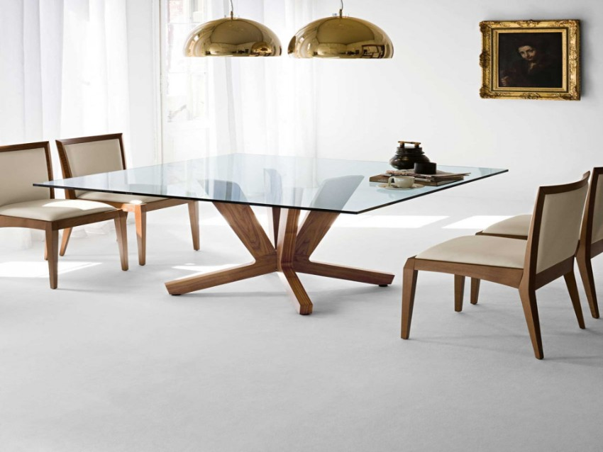 square dining tables 10 Most-Wanted Square Dining Tables 10 Most Wanted Square Dining Tables glass
