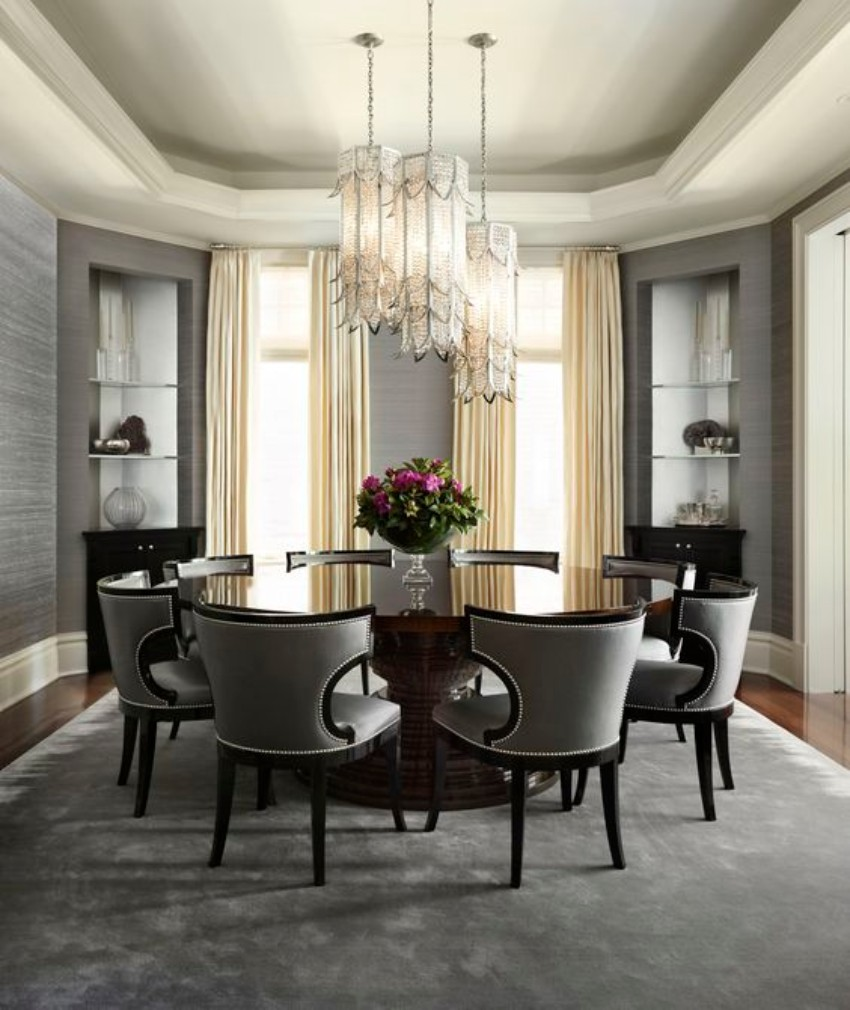 Home Furniture Design Contemporary Dining Tables Contemporary Dining Tables  For Your Dining Room 10 Round Dining
