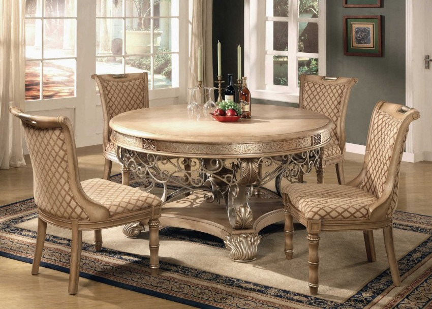 dining tables and chairs contemporary dining tables Contemporary Dining Tables For Your Dining Room 10 Round Dining Tables to Create a Cozy and Modern Decor6 1