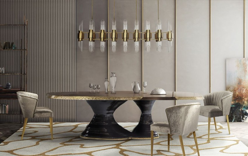luxury tables, exclusive furniture