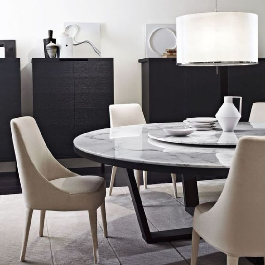 dining chairs modern dining table Let Your Modern Dining Table Brings Up Your Appetite 60 Modern Dining Room Design Ideas2