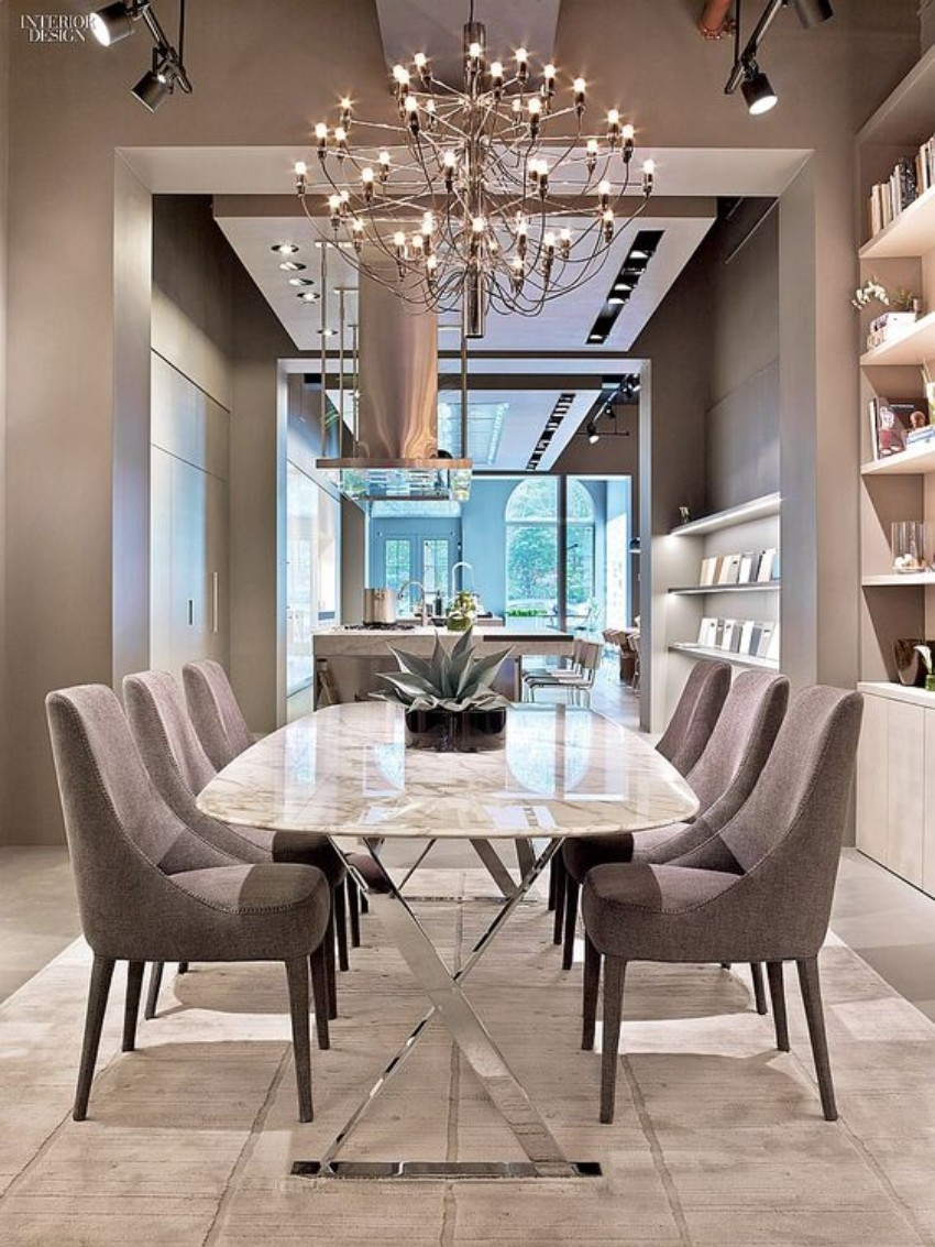 dining room ideas , interior design modern dining table Let Your Modern Dining Table Brings Up Your Appetite 60 Modern Dining Room Design Ideas6