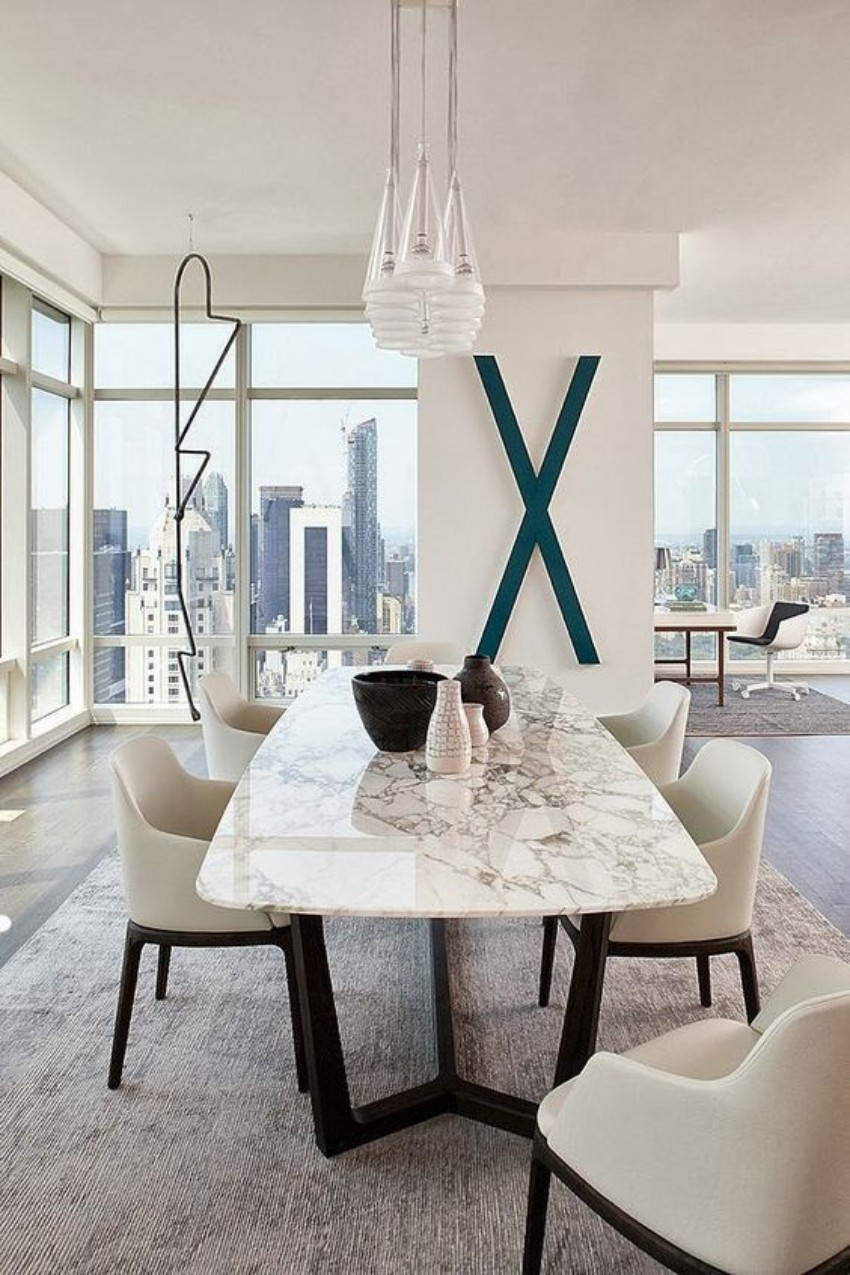 contemporary furniture , modern decor modern dining table Let Your Modern Dining Table Brings Up Your Appetite 60 Modern Dining Room Design Ideas7