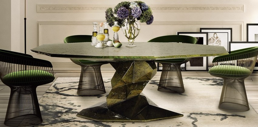 modern dining table Let Your Modern Dining Table Brings Up Your Appetite Bonsai Dining Table