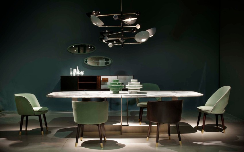 imm cologne The Dining Tables What You Can't Miss at IMM Cologne Contemporary Dining Room Ideas to Inspire You 11