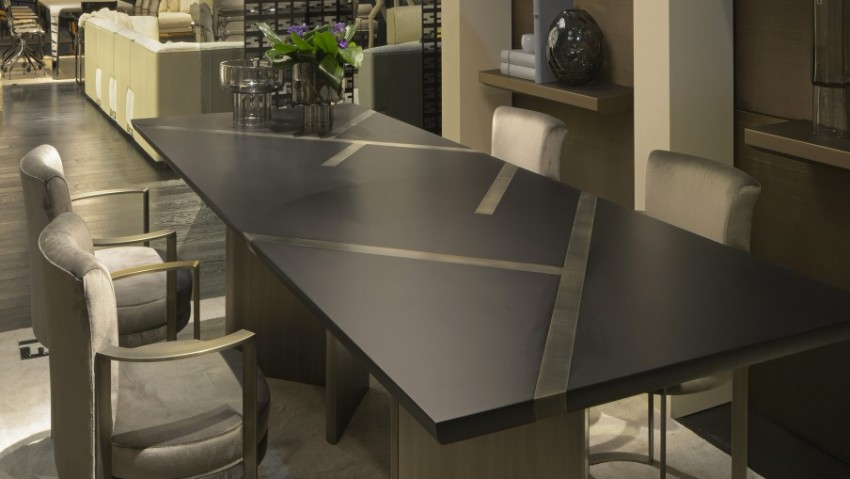 dining tables Trendy Dining Tables For A Modern Lifestyle Dining rectangular table MARGUTTA Fendi