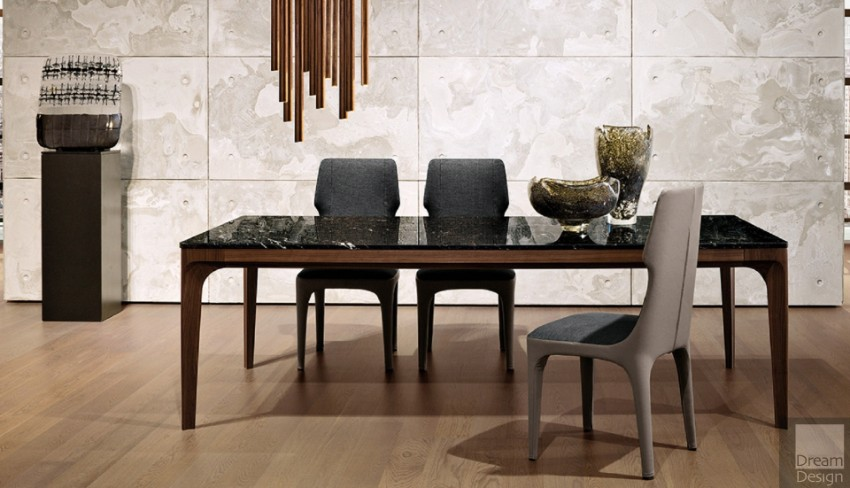dining chairs dining tables Trendy Dining Tables For A Modern Lifestyle Giorgetti tables 2