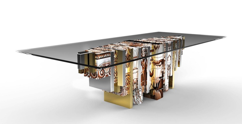 dining tables Trendy Dining Tables For A Modern Lifestyle Heritage dining table1 boca Do Lobo