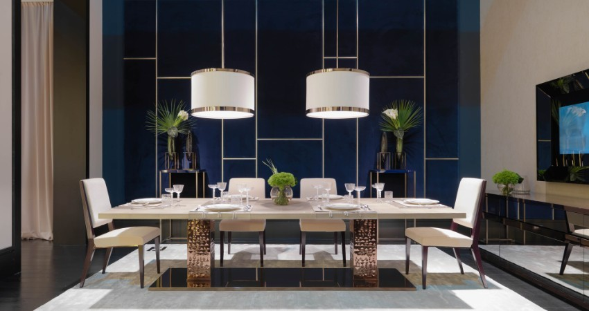 maison et objet 2018, dining furniture dining tables Trendy Dining Tables In Maison & Objet 2018 Table trends for your dining room1 1