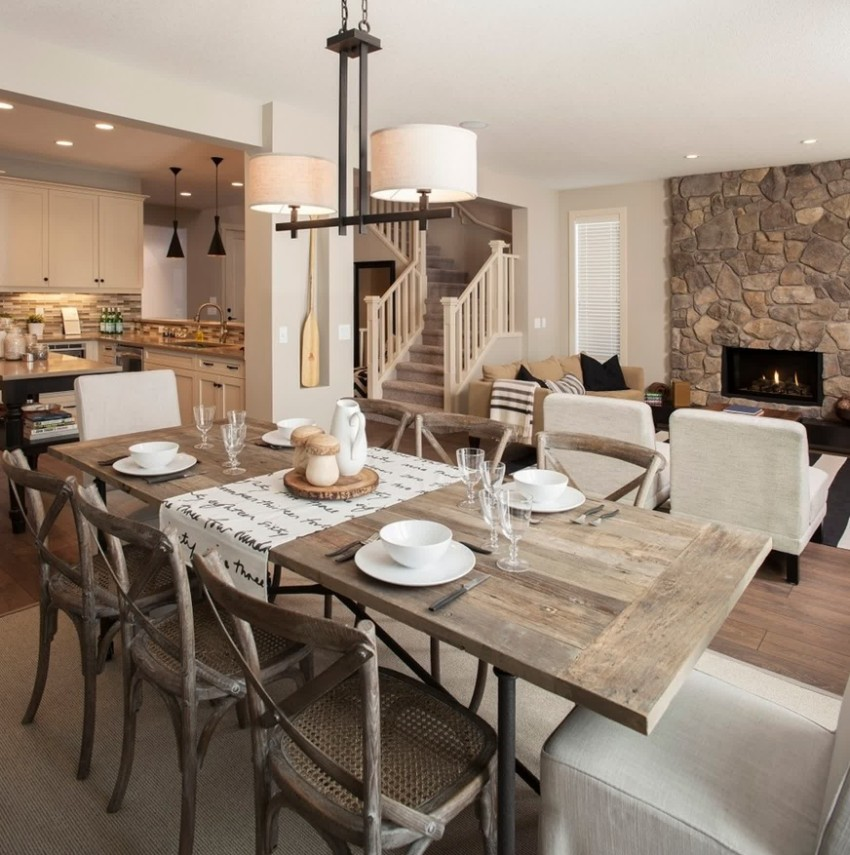 dining room ideas dining room ideas Top Modern Dining Room Ideas for 2018 Top Modern Dining Rooms Ideas for 2018 rustic 1