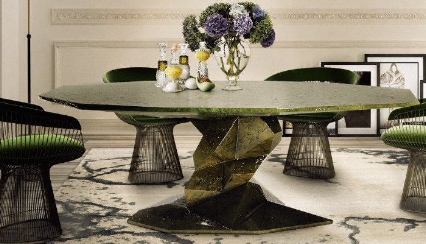 imm cologne The Dining Tables What You Can't Miss at IMM Cologne bonsai dining table by boca do lobo