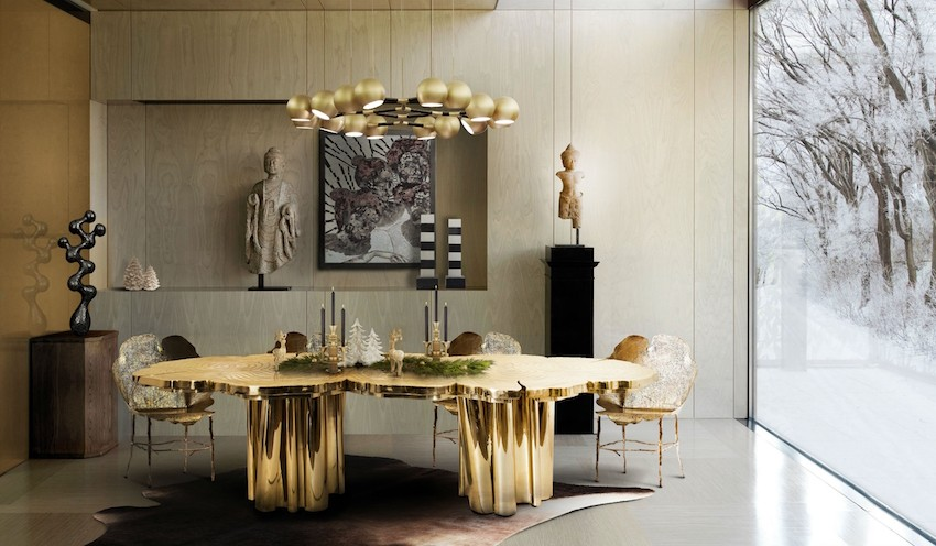 dining tables Stunning Dining Tables To Make Your Everyday Meal Agreeable fortuna dininga table boca do lobo