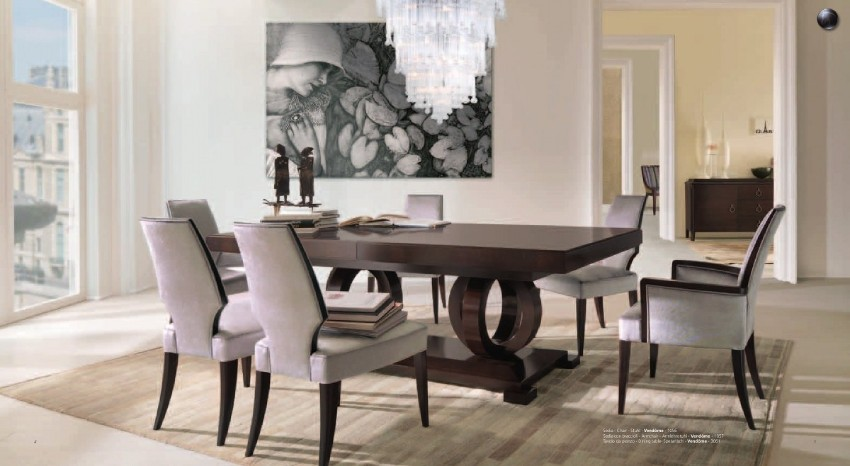 dining table and chairs wood dining tables Exquisite Wood Dining Tables For Your Dream Dining Space 10 Round Dining Tables to Create a Cozy and Modern Decor9
