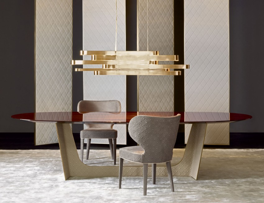 luxury chairs, dining tables modern dining tables Equip Your Home And Living With Modern Dining Tables 60 Modern Dining Room Design Ideas 4