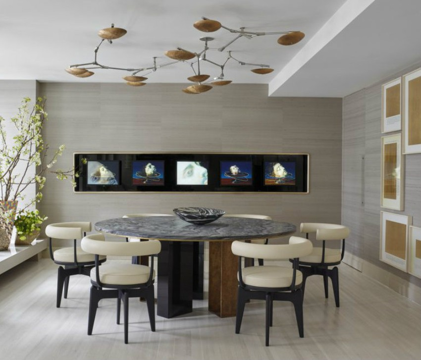 modern dining table Make Your Modern Dining Table Bring Up Your Enthusiasm 60 Modern Dining Room Design Ideas10